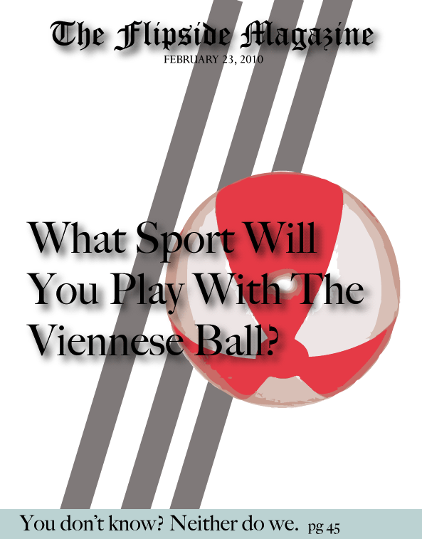 The Flipside Magazine: What Sport Will You Play With the Viennese Ball?
