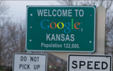 Topeka Renames Itself to Google, Gets One Million Users