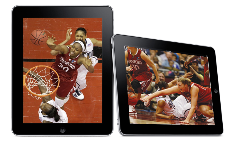 Women's Basketball Team Loss Looked Great on the iPad