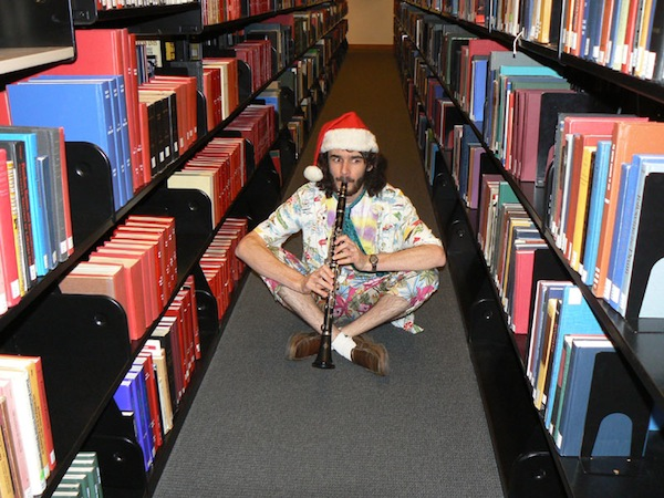 Band Member Forgets to Check Email, Shows Up to Library Rally Alone