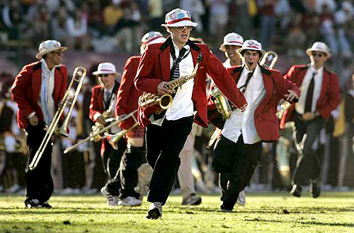 Stanford Band Plays All Right Now On Repeat