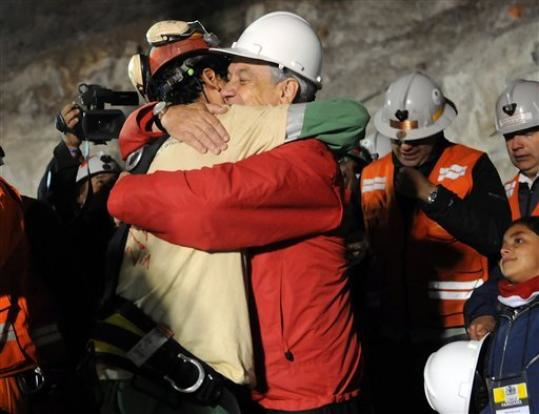"Chilean Miners Wait a Day to Avoid ""Coming Out"" Confusion"
