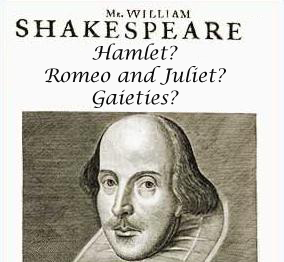 "Controversy Emerges as to Whether Shakespeare Really Wrote ""Gaieties"""