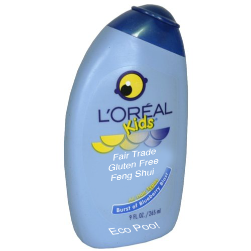 "L'Oreal Unveils ""Eco-Poo,"" New Line of Fair-Trade, Gluten-Free, Feng-Shui Shampoo"