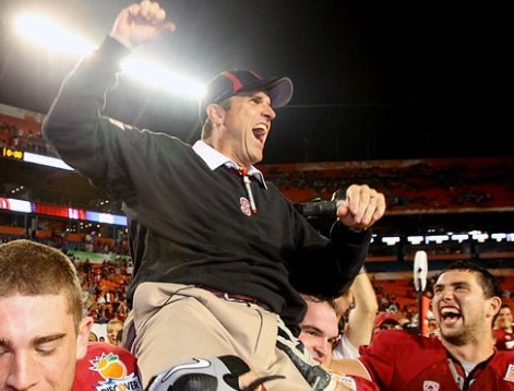 Stanford Celebrates Orange Bowl Victory By Getting of Rid of Top Coach