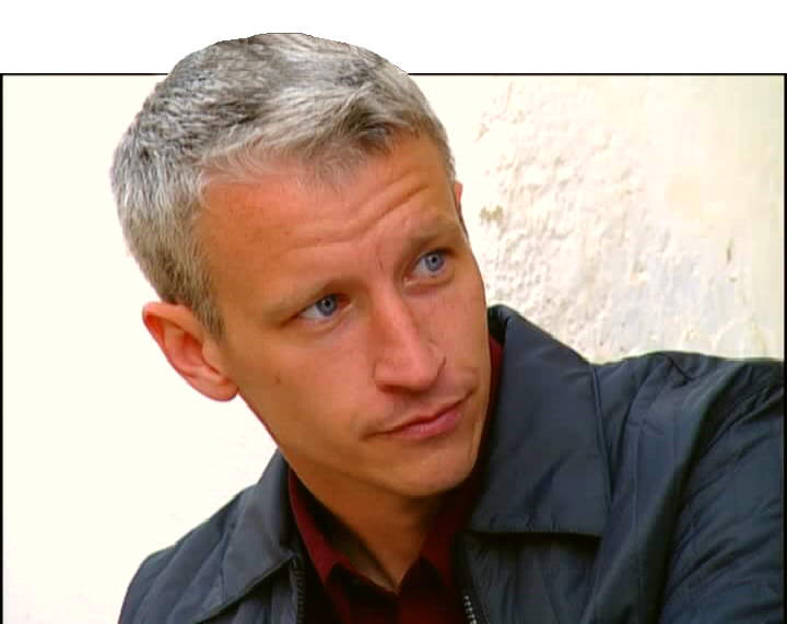"Anderson Cooper is ""Sexier"" With Battle Scars From Egypt"