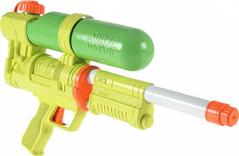 U.S. Marines to Use Super Soakers as Main Firearms