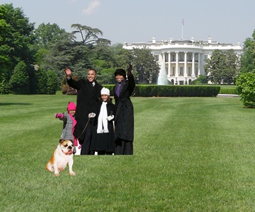 Obama's First Presidential Action To Get, Walk New Puppy