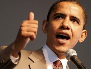 Obama Credits Victory To Power Thumb