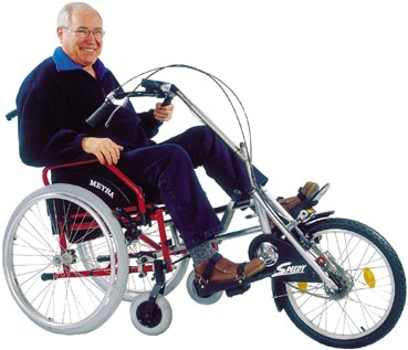 Invacare Releases New Pedal-Powered Wheelchairs