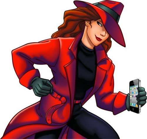 Apple Location Tracking Data Reveals Entire History of Carmen Sandiego's Whereabouts