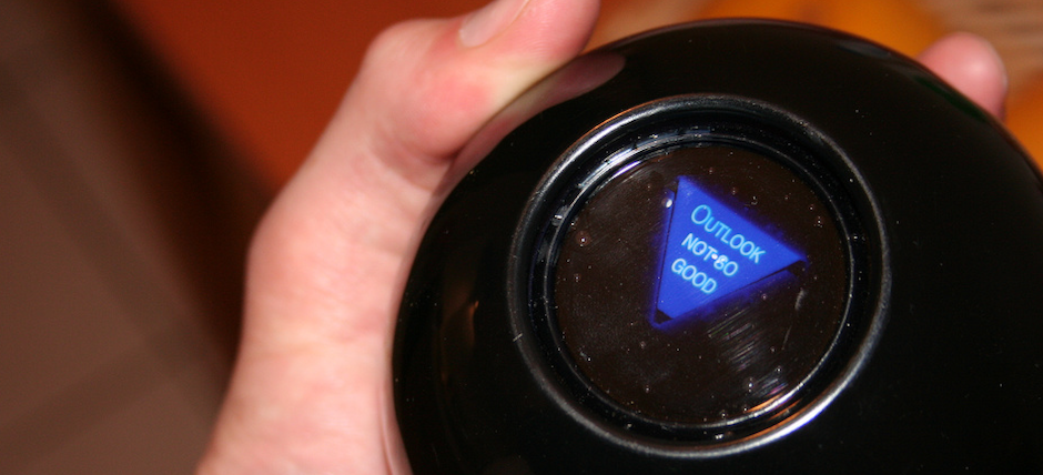 Report: PreMajor Advisors to be Replaced by Magic 8 Balls, Outlook Not So Good