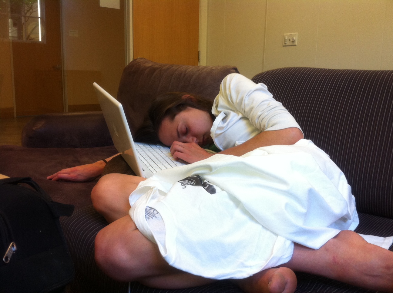 Student Wakes up Late for Take-Home Final
