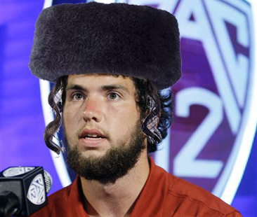 BREAKING NEWS: Andrew Luck Discovers Maternal Grandmother is Jewish, Will Not Play on Yom Kippur