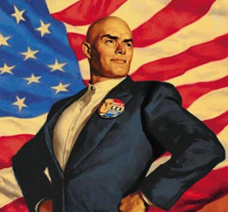 Lex Luthor Top Contender in GOP Presidential Race