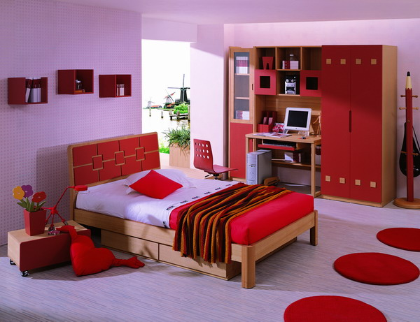 Magnificent Red Bedroom Paint Ideas for Girls 600 x 461 · 77 kB · jpeg