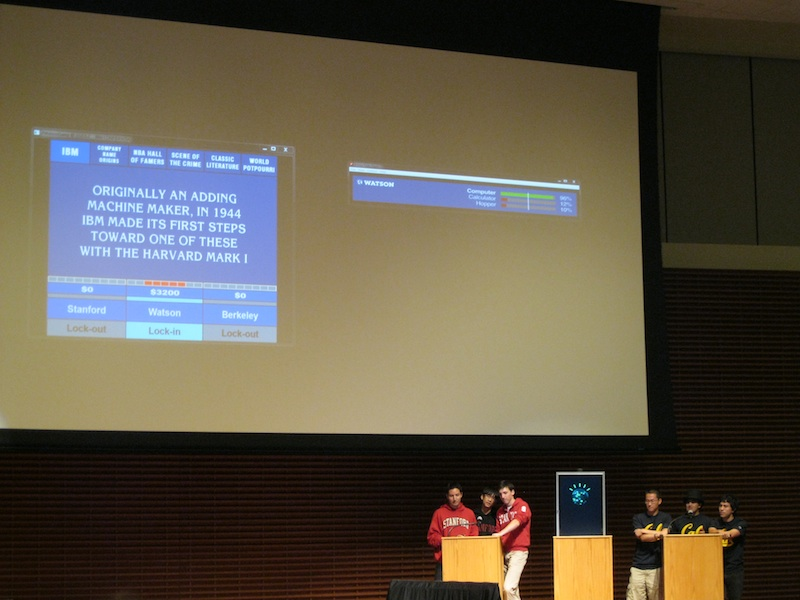 IBM's Watson Comes to Stanford For Game of Which One of You is a Computer?
