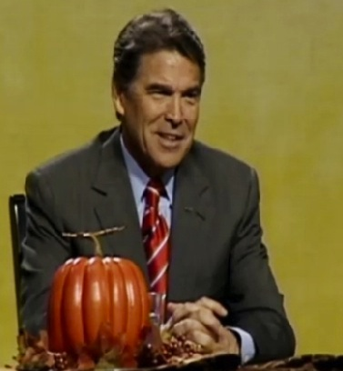 Rick Perry Can't Name Three Things He's Thankful For