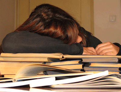 Report: Student Is Tired