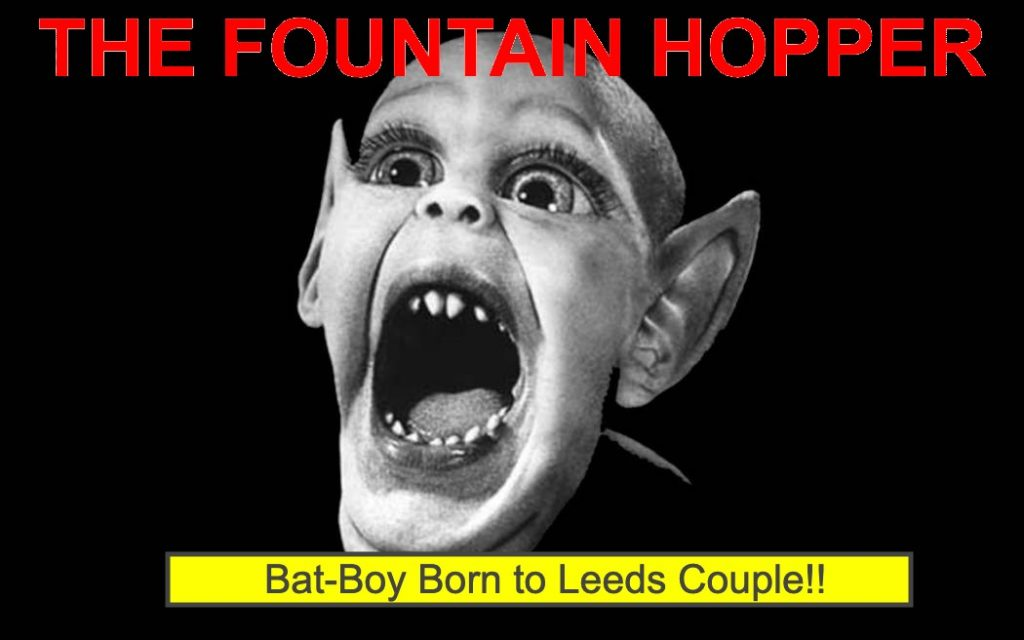 """Bat-Boy Born to Leeds Couple,"" FoHo Announces As It Completes Transformation into Trashy British Tabloid"