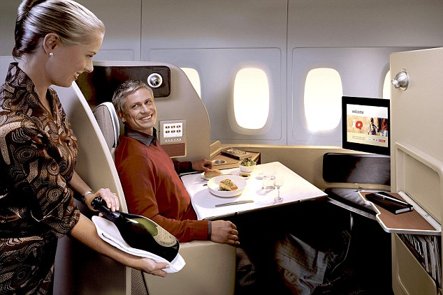 Airline Offers FreePrivilege-Checks for First-Class Passengers