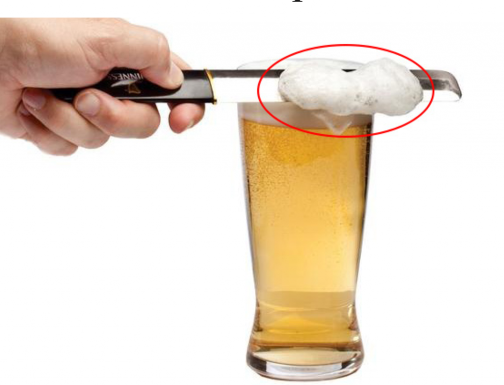 "Budweiser Introduces New ""Just the Foam"" Beer"