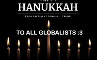 White House Wishes a Happy Hanukkah to America's Globalists