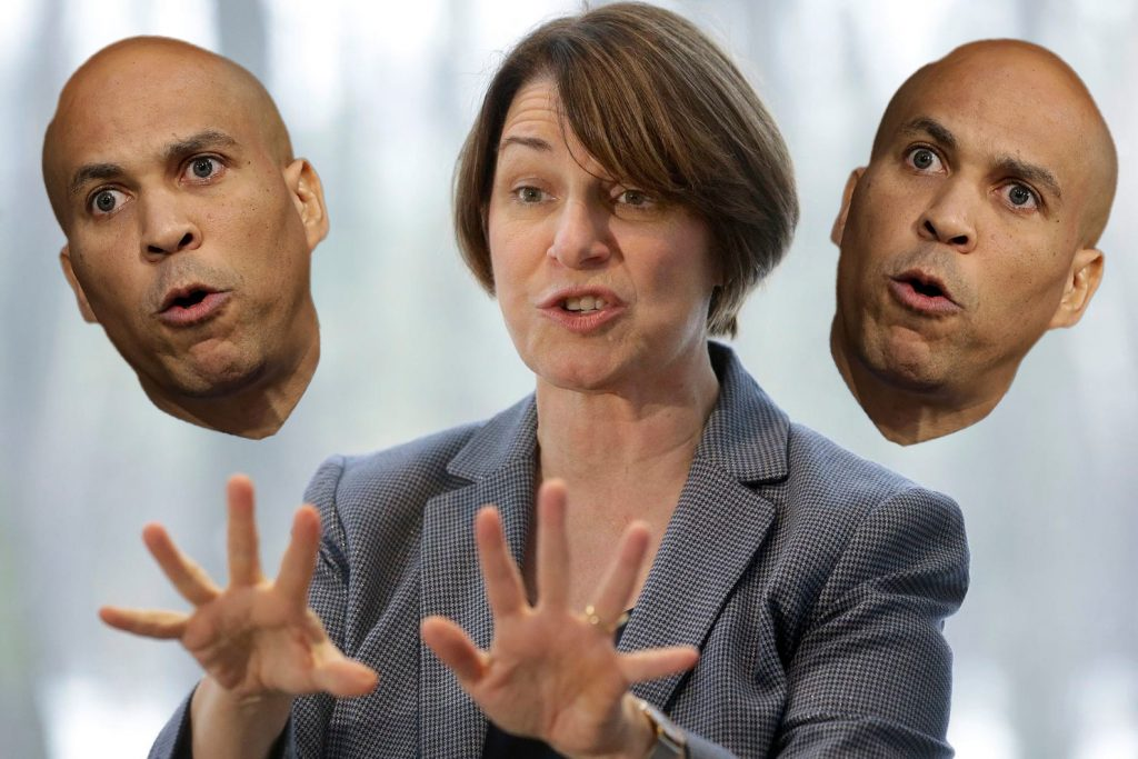"Klobuchar Attacks Booker for Being ""An Electoralist Hack"" with ""No Handle on Dialectical Materialism"""
