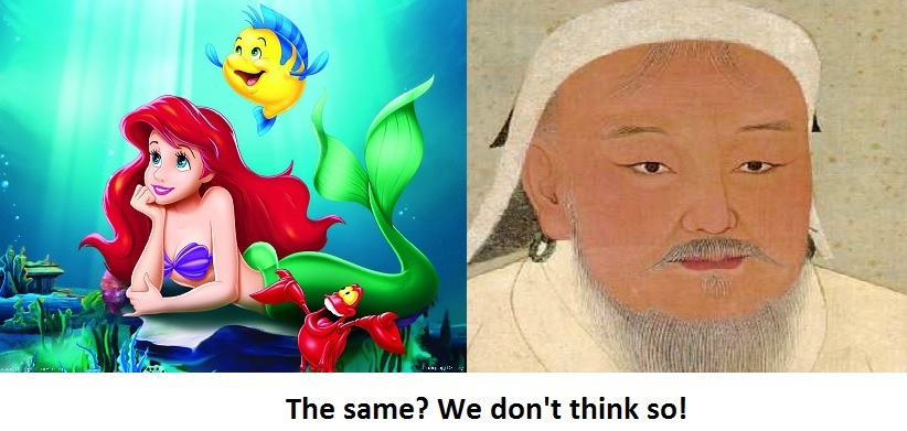 Popular Theory that the Little Mermaid is Genghis Khan Probably False