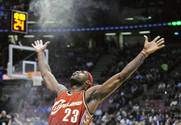 BREAKING NEWS: LeBron James is Jesus
