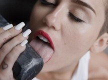 Miley Cyrus Expands Tool-Licking Horizons