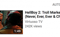 "Youtube Algorithm Pretty Confident You'd Like to See A Few More ""Hellboy 2"" Clips"
