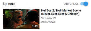 """Youtube Algorithm Pretty Confident You'd Like to See A Few More """"Hellboy 2"""" Clips"""