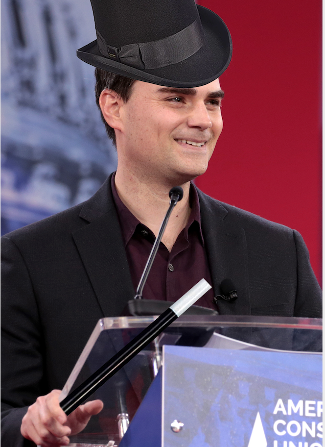 In Final Trick of the Night, Top-Hatted Ben Shapiro Uses Facts and Logic to Make Minimum Wage ~Disappear~