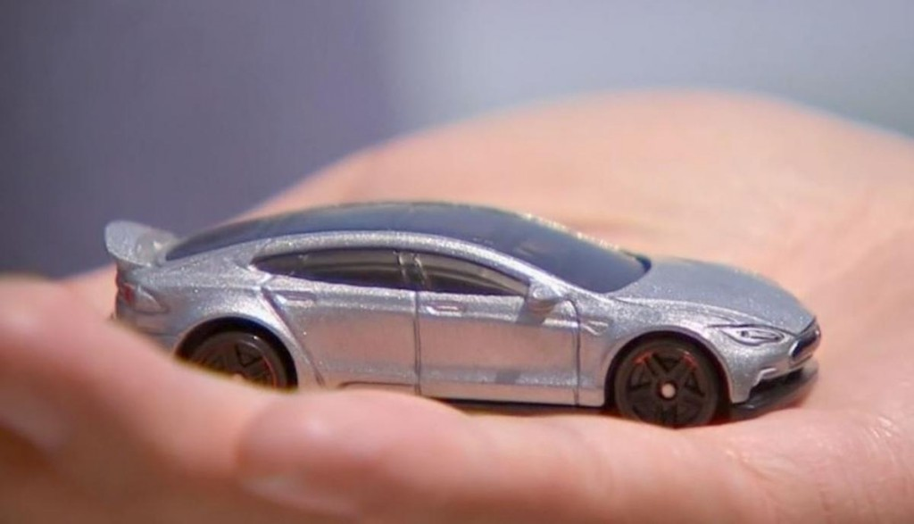 Tesla Unveils Impractically Tiny Car Prototype