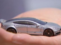 Tesla Unveils Impractically Tiny Car Prototype