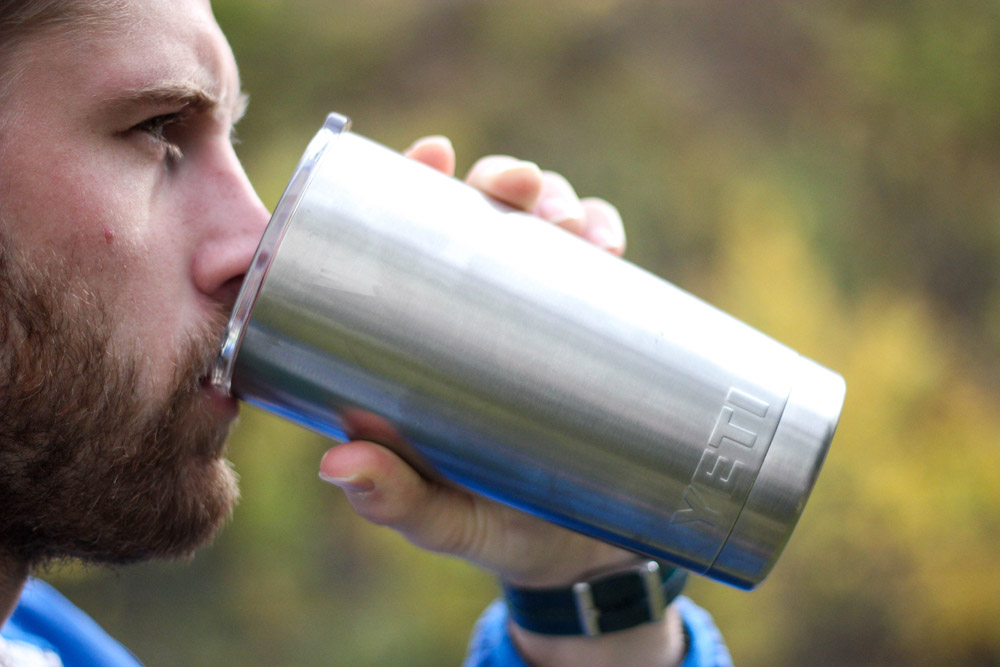 Water-Filled Coffee Thermos Way Too Qualified For This Shit