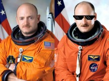 Study Finds Twin Sent into Space Much Cooler than Twin Left on Earth
