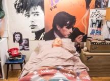 Athlete Roommate just Ferris Bueller-Style Tape Recorder
