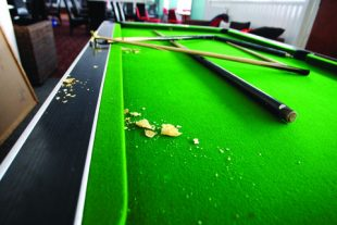 Student Staff Group Interview Devolves into Bloodbath After RF Throws Snapped Pool Cue, Depressed Frosh into Room
