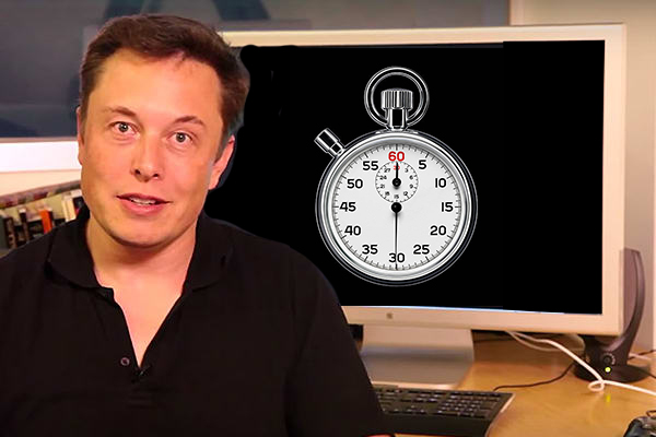 Elon Musk Restricted to 60 minutes of Internet a Day
