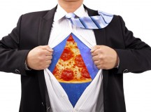 Pizza man becomes Pizza Man after Freak Factory Accident