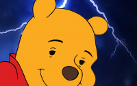 Hubris Punished: Winnie the Pooh Castrated for Having Larger Scrotum Than Zeus
