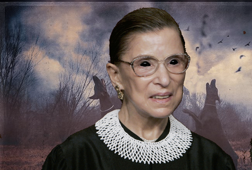 Ruth Bader Ginsburg Awaits Full Moon For Sacrament Of Eternal Life