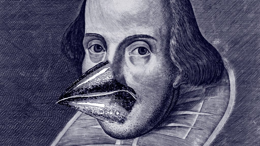 New Evidence Suggests, Contrary to Popular Conception, That Shakespeare Had Feathers and Beak