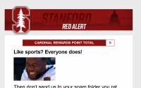 "Breaking: Stanford Athletics Emails Deemed ""Too Hype,"" Account Gets Banned From Outlook Servers"