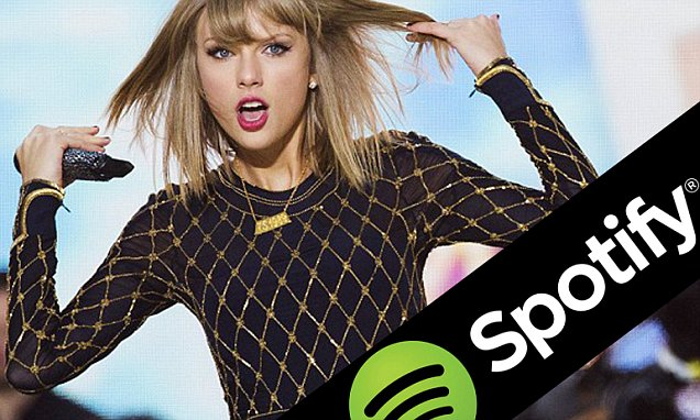 Taylor Swift Dumps Spotify, New Break Up Song to Come