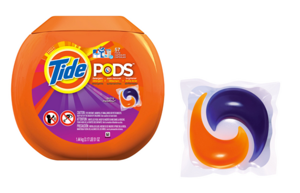 Student Running Pretty Low on Tide Pods