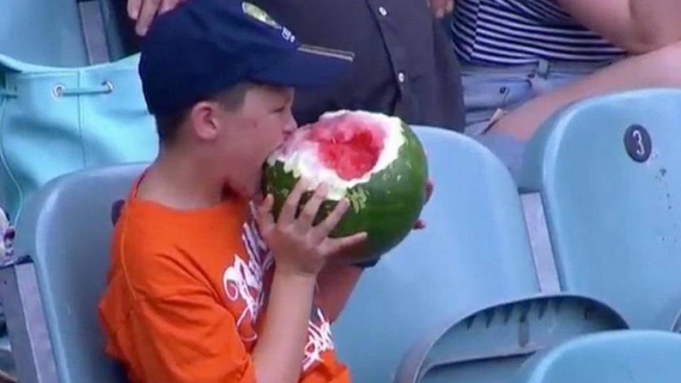 The LORD Divideth Not the Rind from the Flesh. So Sayeth the LORD, Eat the Watermelon in Whole.