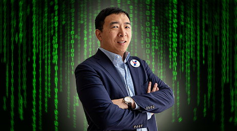 Andrew Yang Warns That AI Will Soon Automate All Your Time-Wasting Bullshit